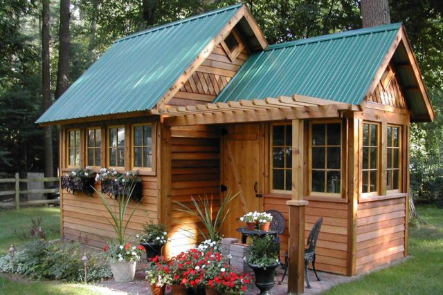Make Your Garden Feel More Lived in With a Shed Makeover